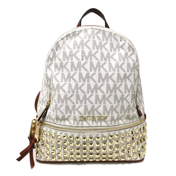 9978b66b4fb3 Michael Kors Bags | Studded Signature Ladies Backpack | Poshmark
